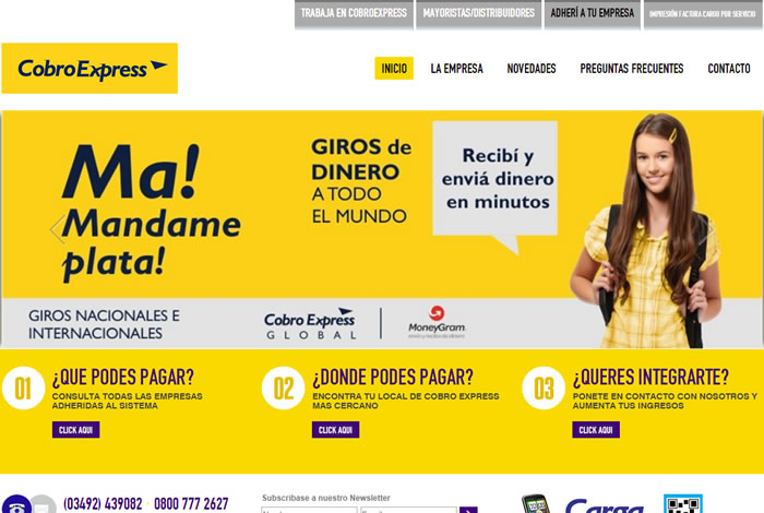 sitio web cobroexpress