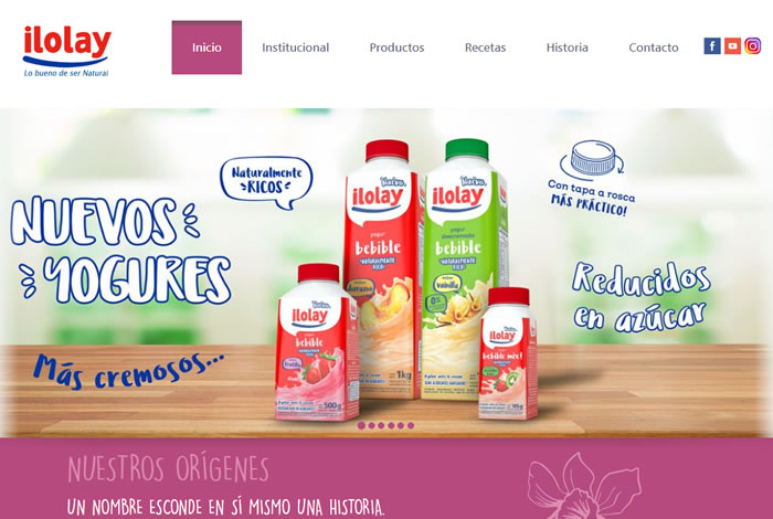 sitio web ilolay